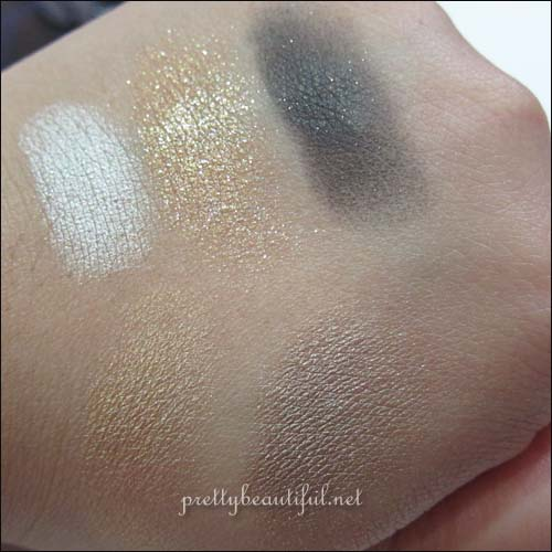 Dior Night Golds 524 Swatch