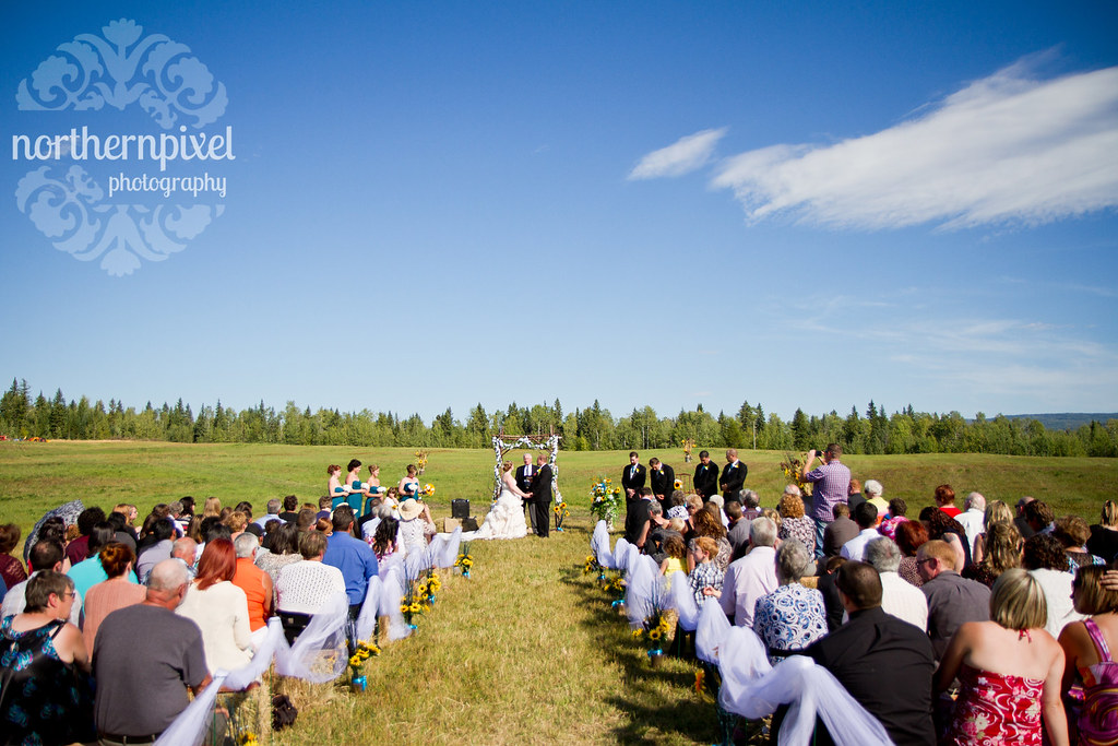 Farm Wedding Ceremony - Prince George BC