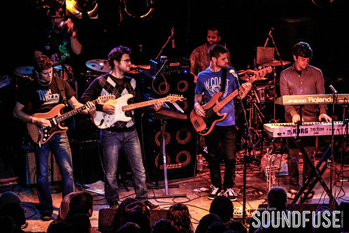 Snarky Puppy with Andreas Kapsalis and Goran Ivanovic at Reggie's-17