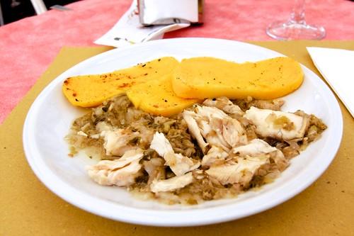 A Luccio - Pike - fish dish
