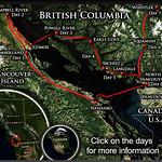 BC Bike Race 2012 Map