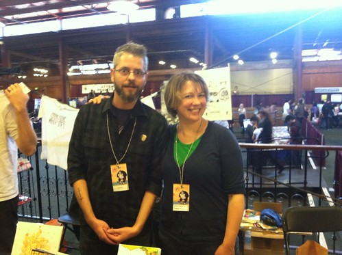 Tom Neely & Emily Nilsson at APE 2012!