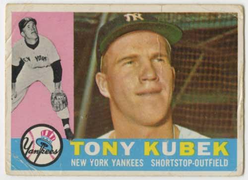 1960 Topps Tony Kubek