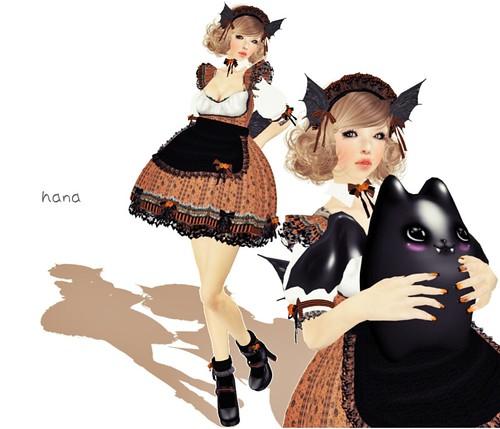Halloween maid。