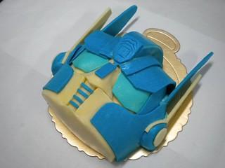 生日蛋糕 變形金剛