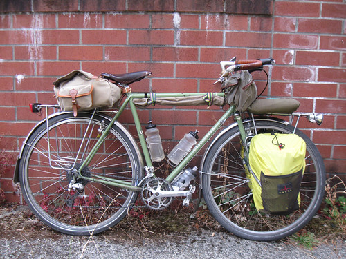 Autumn Bicycle Camping Day 1 - My Atantis just before heading out