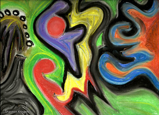 Kringen spontaneous pastel