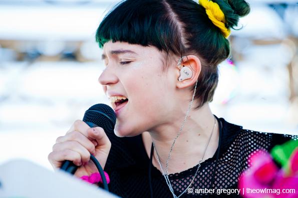 Grimes @ Treasure Island Festival, SF 10/14/12