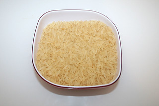 08 - Zutat Naturreis / Ingredient rice