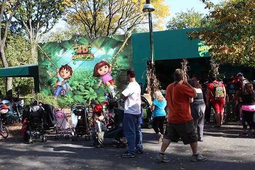 The Biggest Attraction at the Bronx Zoo: Dora the Explorer in 4D