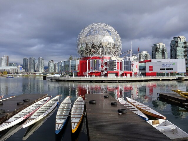 Dragonboats and Science World