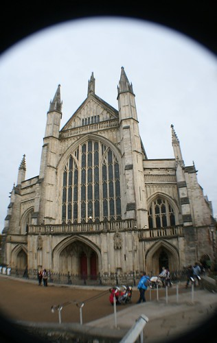 West Front of Winchester Cathedral
