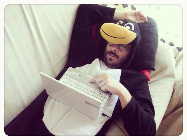 pijama pinguino