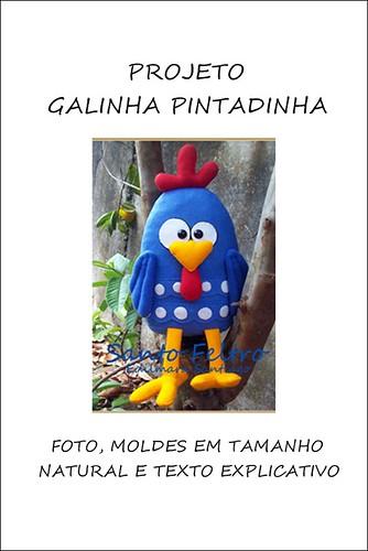 PROJETO GALINHA PINTADINHA by edilmarasantiago