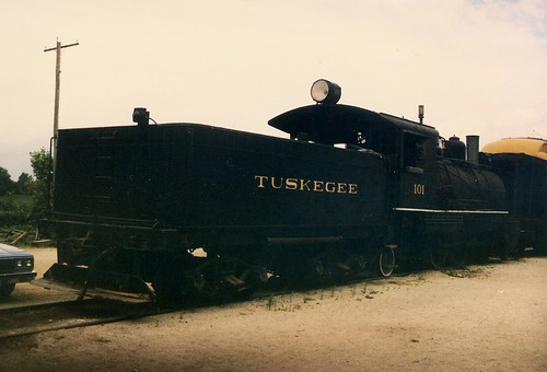 The Illnois Railway Museum.  Union Illinois.  July 1988. by Eddie from Chicago