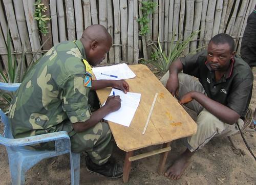 Major Bashimbe with the Poacher