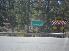 End NM-96 West at US-550