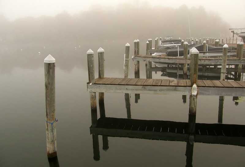 The floating dock