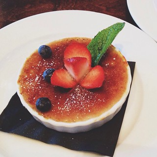 Creme brulée from Jack's Restaurant and Bar