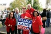 CWA members with former VA Gov. Tim Kaine