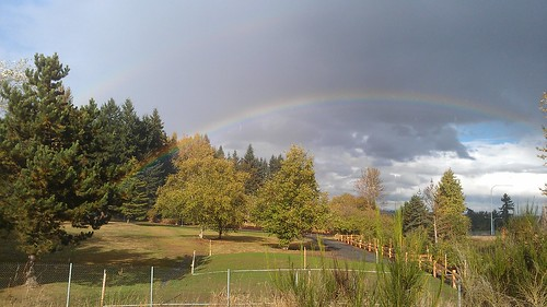 Super-close rainbow! by christopher575