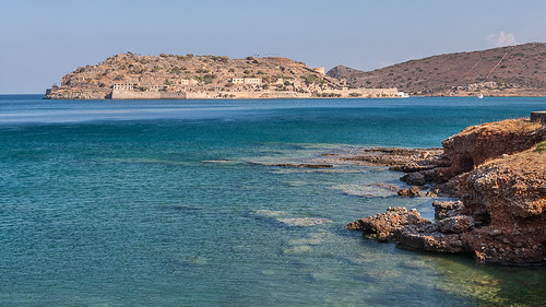 Spinalonga, as seen from Plaka
