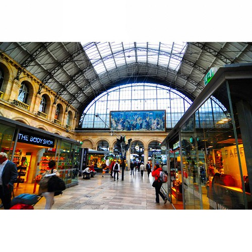 Gare du Nord, Paris 2012-10 #photodang #paris #station #nikon #d90