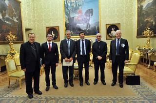 Con Rialti, Fisichella, Ornaghi e Tarquinio