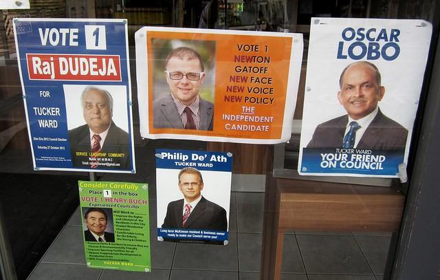 Glen Eira council posters