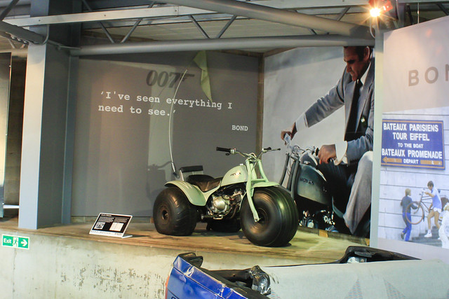 Honda 3-wheeler from Diamonds Are Forever. Credit: Ken Chmielewski, all rights reserved