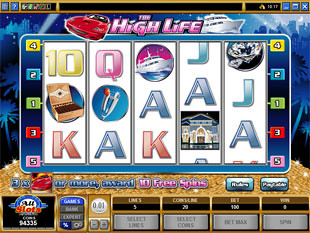 The High Life Slot Machine