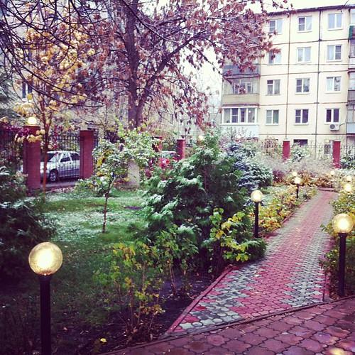 Первый снег в Тольятти