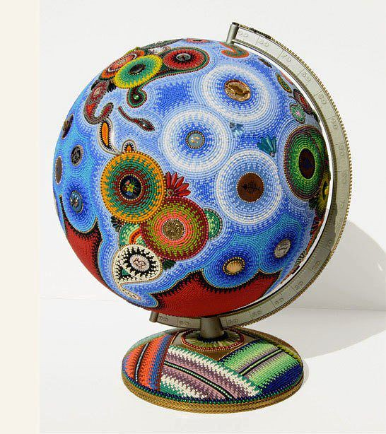 Gorgeous Globe by Jan Huling