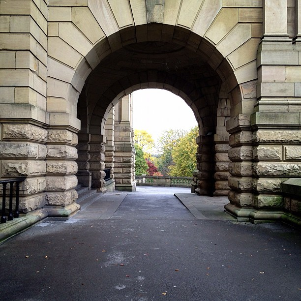 #archway #view #building #listerpark #cartwrighthall