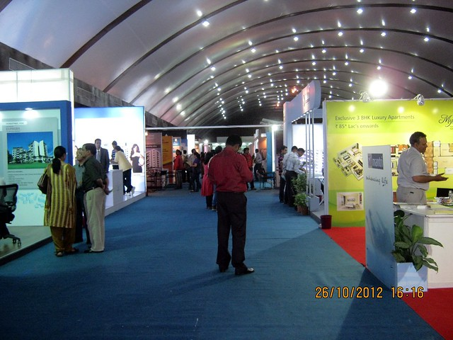 Good Response - Exhibition of Properties in Hinjewadi, Wakad, Baner, Balewadi & Bavdhan! - PROFEST WEST 2012 by CREDAI Pune Metro on 26 - 27 - 28 October 2012 at VITS Hotel, Balewadi, Pune