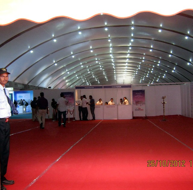 Pillarless Orchid Convention Centre - Exhibition of Properties in Hinjewadi, Wakad, Baner, Balewadi & Bavdhan! - PROFEST WEST 2012 by CREDAI Pune Metro on 26 - 27 -28 October 2012 at VITS Hotel, Balewadi, Pune
