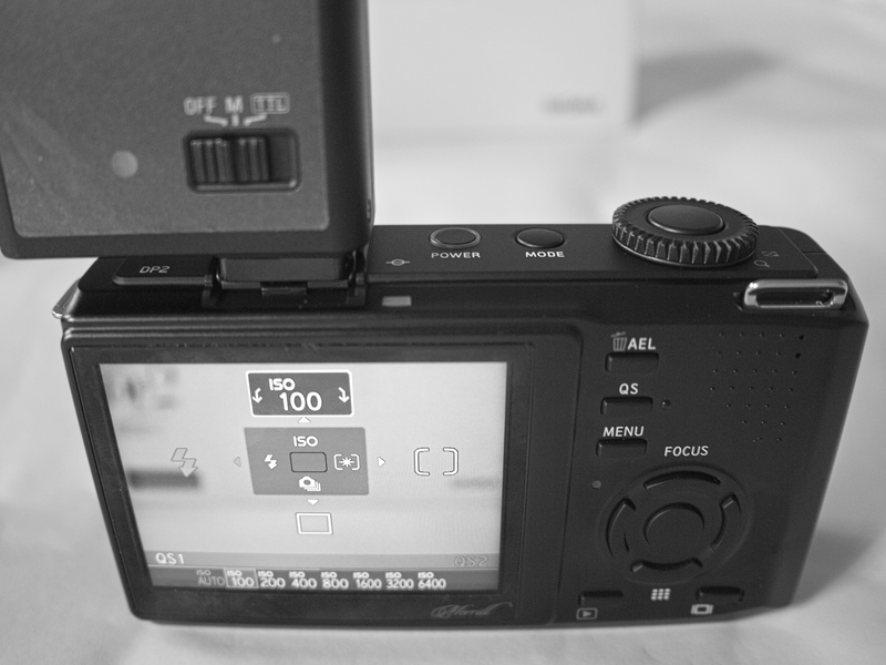 Sigma DP2m with EF-140 DG Flash