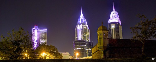 mobilealabama condé downtownmobile fortconde fortcondevillage mobileskyline