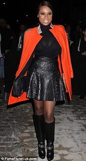 Jennifer Hudson Cape Coat Celebrity Style Women's Fashion