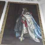 Flamsteed House - Royal Observatory Greenwich - Octagon Room - portrait of James II