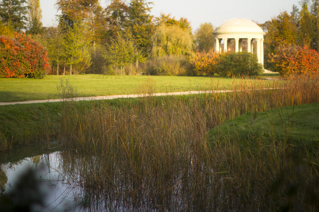 The Hamlet in La Domaine de Marie Antoinette at Versailles in Autumn 2