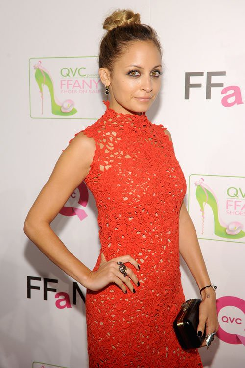 nicole-richie-qvc-prsents-ffany-shoes-on-sale-event-new-york-city-scanlan-and-theodore-spring-2012-dress-1