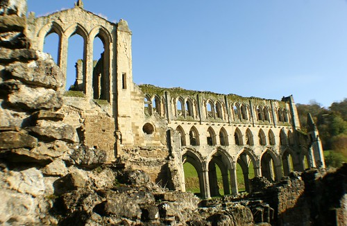 South Transept and Presbytery at Rievaulx Abbey