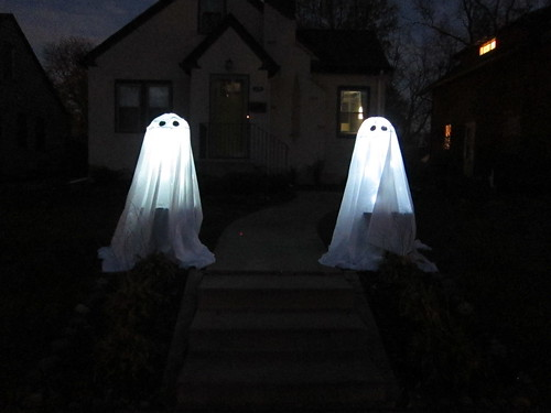 Tomato Cage Ghosts