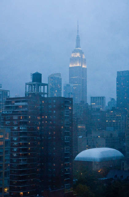 Empire State Building, Hurricane Sandy