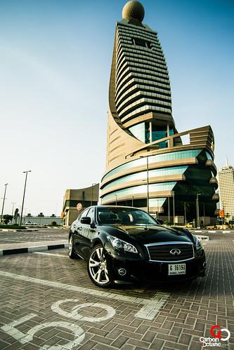 2012 Infiniti M56S CarbonOctane Front Etisalat Dubai