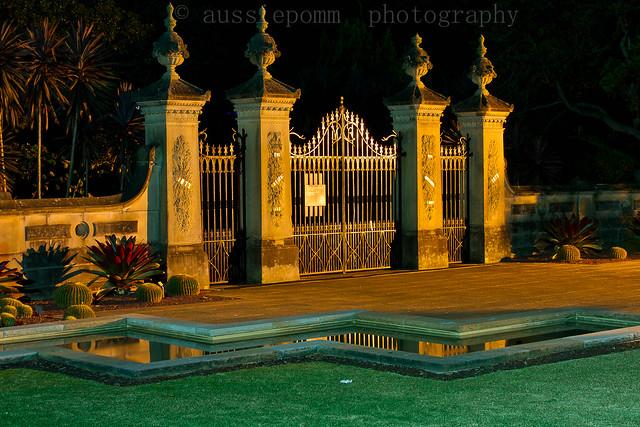 Woolloomooloo Gate - Royal Botanic Gardens