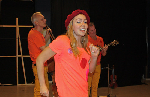 Louice Ottosson med Hans Bigestans och Kenneth Höglind.