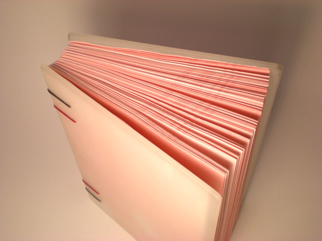 Outside bookbinding