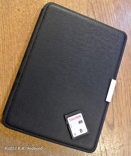The Kindle Paperwhite Leather Cover